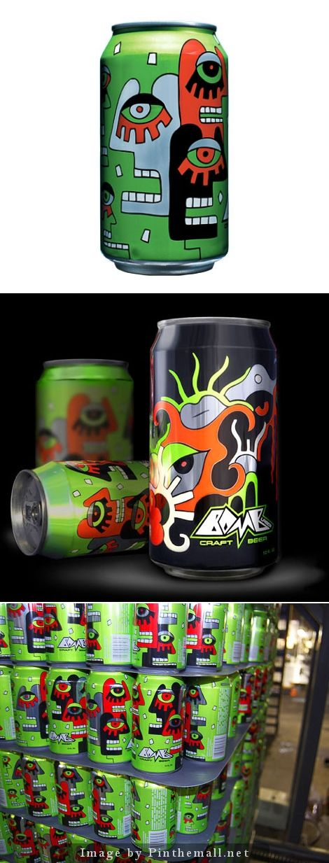 I'd forgotten about this cool craft beer packaging for Bomb Lager curated by Packaging Diva PD created via http://www.ohbeautifulbeer.com/2011/09/bomb-lager/