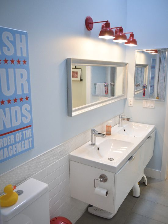 The Art Gallery Inexpensive Bathroom Remodel Examples For Home Amazing Modern Bathroom With Blue Color Ambiance White Washstand