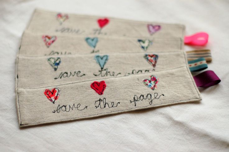 Handmade Linen and Liberty Print