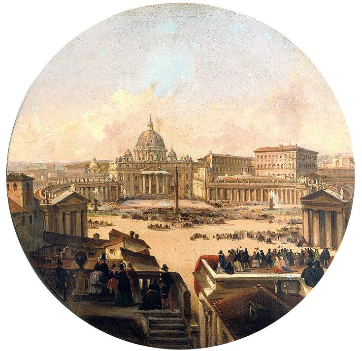 Benedizione papale in piazza San Pietro / Vedute / Route by subject - Museo di Roma