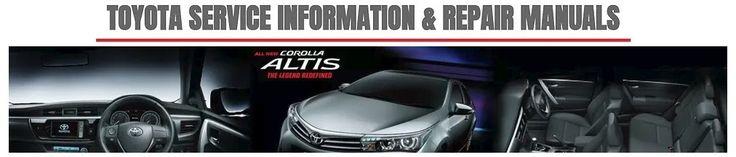 2014 Toyota Corolla Altis Repair Service Manual: 2014 Toyota Corolla Altis Workshop Manual