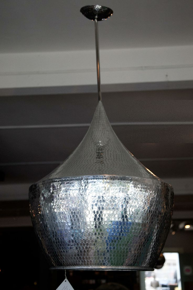 Hammered Aluminum Pendant Lamp FleaPop Buy And Sell Home Decor Furniture Antiques