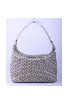 Goyard Fidji Hobo Bag Gray