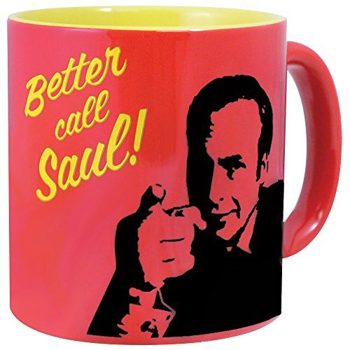 Collectible AMCs Better Call Saul Television Series Glazed Ceramic Mug @ niftywarehouse.com #NiftyWarehouse #BreakingBad #AMC #Show #TV #Shows #Gifts #Merchandise #WalterWhite