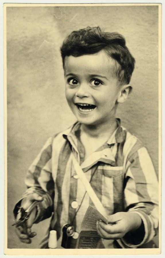Portrait of Istvan Reiner, taken shortly before he was killed in Auschwitz concentration camp,  ca. 1943