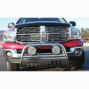 """Trail FX 1312125001 Chevy 1500 HD Polished Stainless Steel 3"""" Bull Bar"""