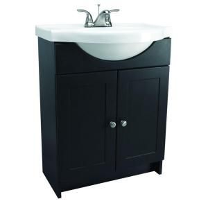 Digital Art Gallery Home Decorators Collection Madeline in W Bath Vanity in Chestnut with Composite Vanity Top in White