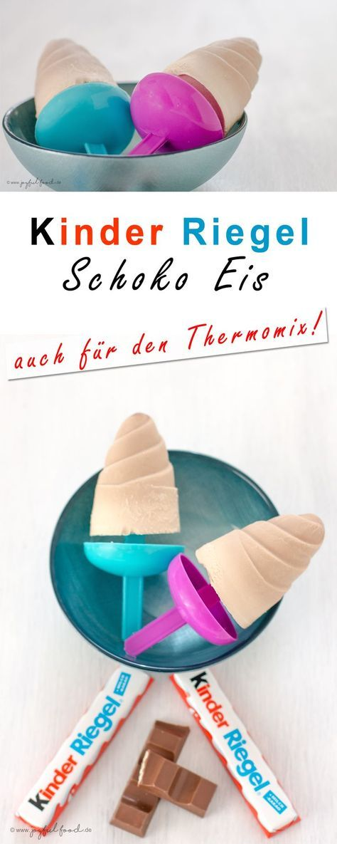 Kinder Schokoladen Eis – Thermomix
