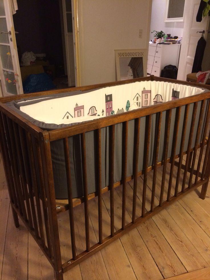 Diy Babyseng Beiset Og Lakket Seng Opprinnelig Fra Ikea
