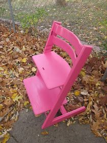 Last Year, We Painted Katieu0027s Stokke High Chair. I Meant To Share It And