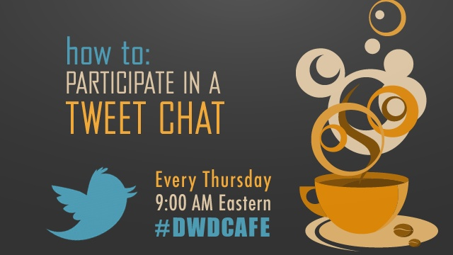 Join our new time slot for our Twitter Chat #Dwd Cafe on Thursdays at 9 am EST! We are a 24 hour LIVE Community so stop by and say hello:) @daytimewdonnaTime Slot, Dwdcafe Twitter, 24 Hour, Living Community, Twitter Chat, Hour Living, Cafes K-Cup, Dwd Cafes, Chat Dwd