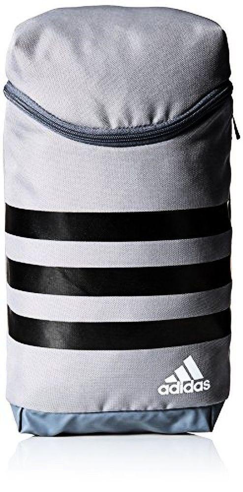 Adidas Originals 3 Stripe Sports Shoes Bag Case Gray Golf/Gym/Cycling BC2244 #adidas