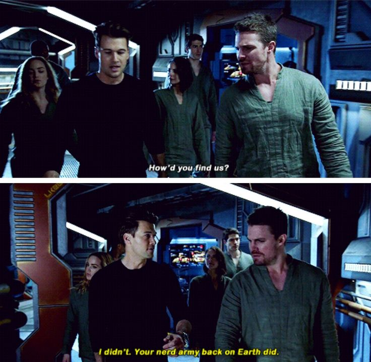 Team Legends in #TheFlash #3x08 - Crossover Part 1!