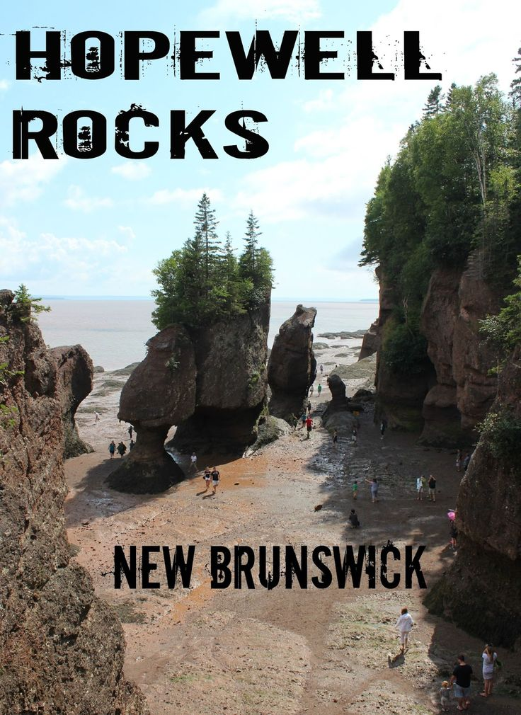 Life on a Canadian Island: Hopewell Rocks ~ Bay of Fundy, New Brunswick