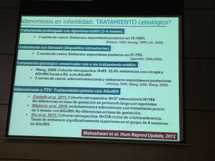 Adenomiosis y fertilidad. Tipos de tratamiento. Dra.  María Carrera de @fiv_madrid