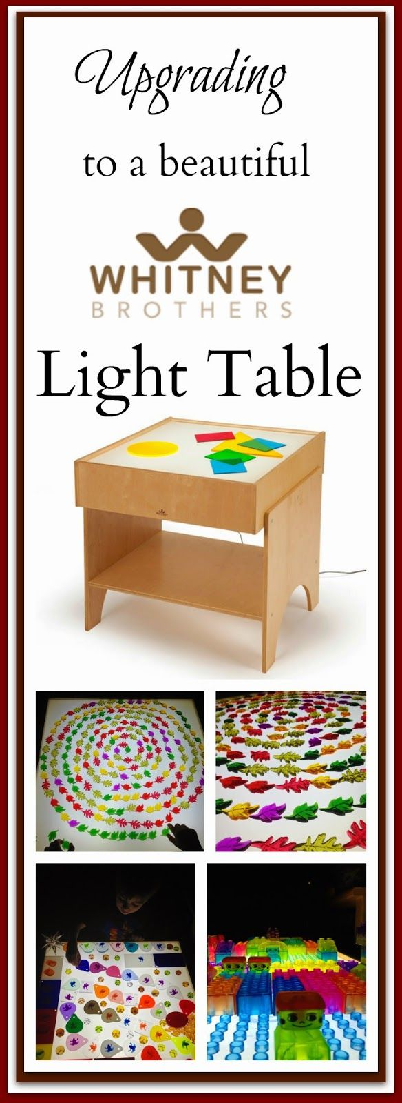 Upgrading to a Beautiful Light Table