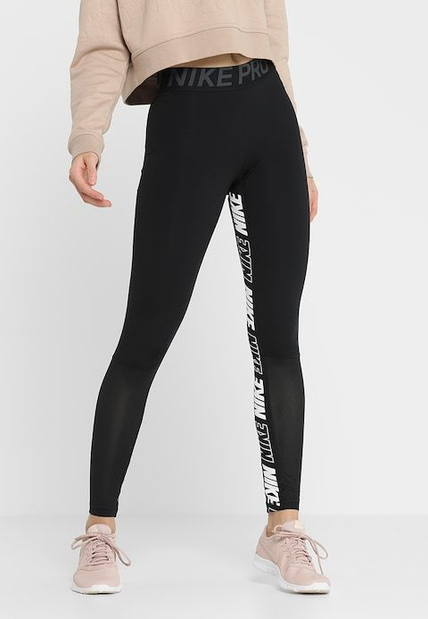 7fa6a12d800db ICON CLASH GRAPHIC NIKE PRO 7/8 - Leggings - black/anthracite/white ...