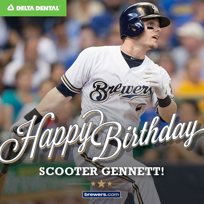 Mike Fiers Brewers: Happy Birthday, Scooter Gennett! #Brewers