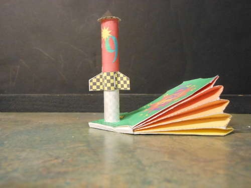 Build A Paper Rocket And Paper Launcher