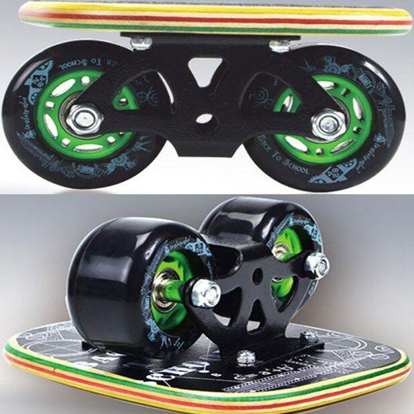 1 Pair SKATING HB012 Freeline Skates with Super Elastic Wheels Random Wheel #4 - Tmart  sports outdoor