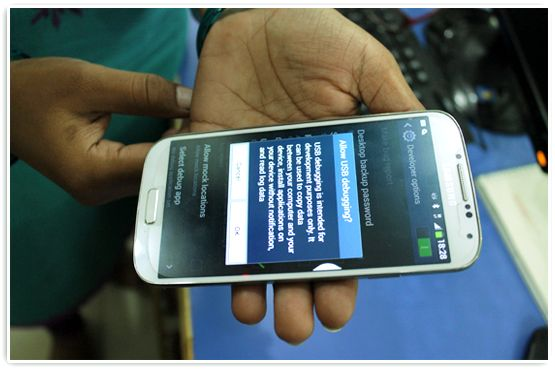 This tutorial is about how to connect Samsung Galaxy S4 Phone with your Computer for sending free SMS using DRPU Bulk SMS Software for Android mobile phone. The software provides facility to broadcast unlimited text messages from computer to any mobile phone.
