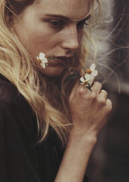 """The Ballad of Ryan, Anna, Josh, Dree"" Dree Hemingway shot by Bruce Weber for Vogue Italia, September 2010."