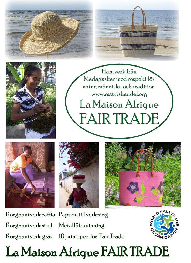 Print on the theme #Fairtrade #crafts for #Sustainable #Development  was one of the #Formex #news at La Maison Afrique FAIR TRADE stand.