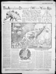 The Ogden standard-examiner. (Ogden, Utah) 1920-current, August 15, 1920, COMIC SECTION, Page 8, Image 32, brought to you by University of Utah, Marriott Library, and the National Digital Newspaper Program.