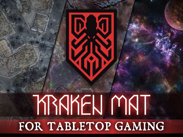 We Bring The Most Realistic And Sharp Looking Mats To Your Gaming Tables Table Top Kraken Table Games