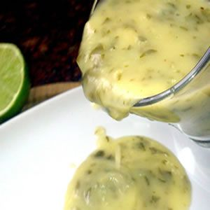 Salsa de limón para pescado [Lemon sauce for fish]