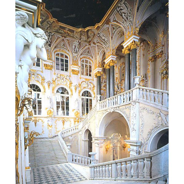 History of St-Petersburg. Russian history, arts and architecture of Saint Petersburg found on Polyvore