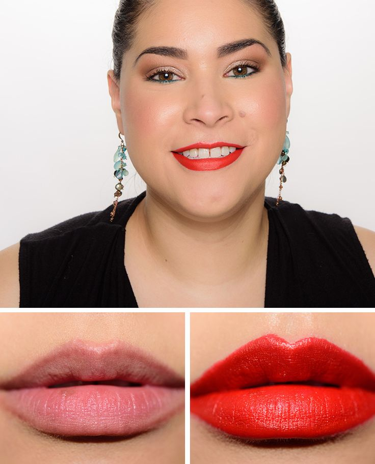 NYX Pure Red Matte Lipstick Review & Swatches