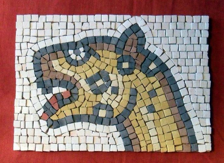 11 best latin mosaic project images on pinterest roman for Mosaic templates for kids