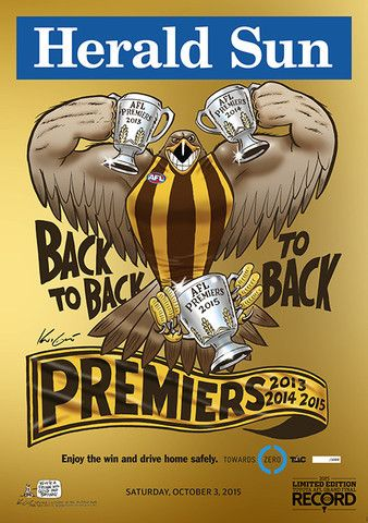 2015 Limited Edition AFL Grand Final Record