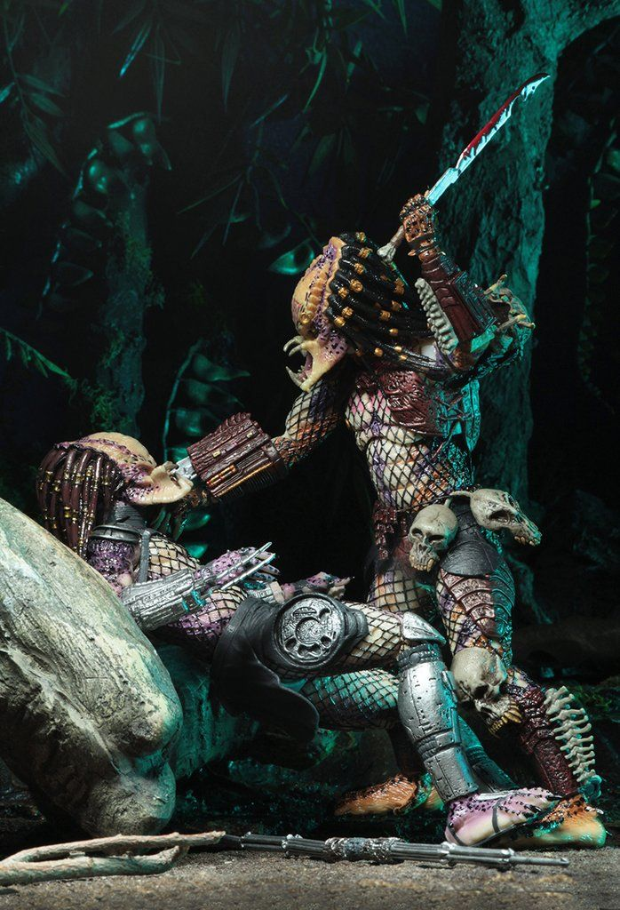 Pictures Of Roblox Head Enforcers 7 Scale Action Figures Ultimate Bad Blood Vs Enforcer 2 Pack Neca Predator