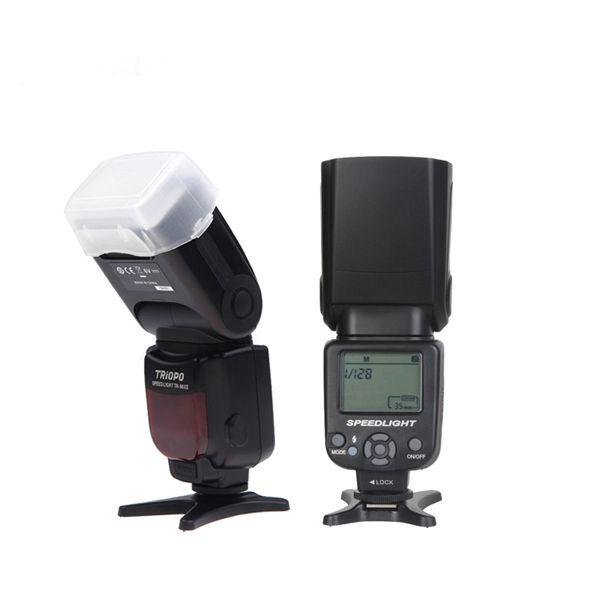 TRIOPO TR-960 II Flash Speedlite Manual Zoom for Nikon Canon Pentax DSLR Camera