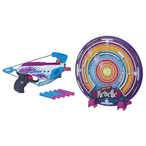 NERF Rebelle Star Shot Targeting Set - Style Colors May Vary