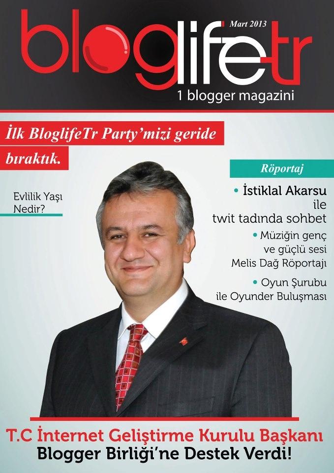 Bloglife TR Dergisi, Mart sayısı yayında! ÜCRETSİZ okumak için: http://www.dijimecmua.com/bloglifetr/