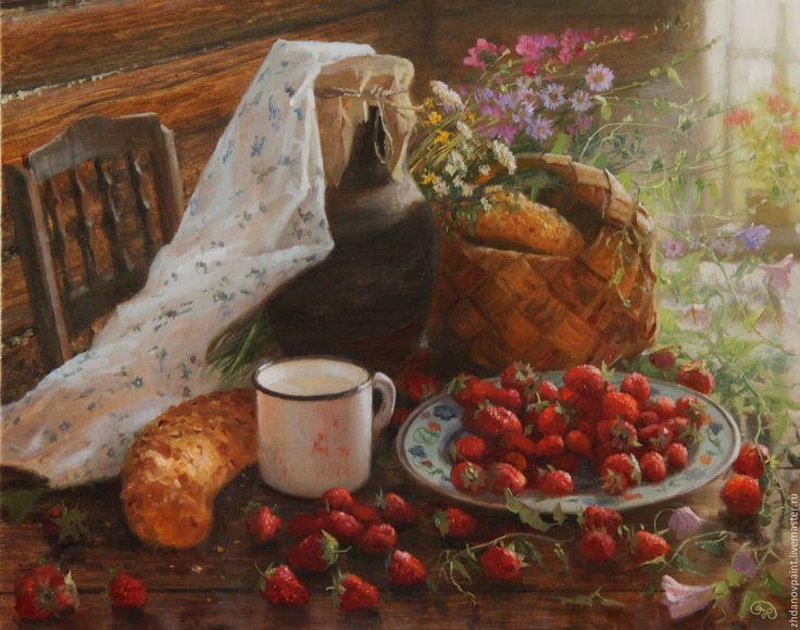 Купить или заказать Владимир Жданов  --  Запахи лета. в интернет-магазине на Ярмарке Мастеров. как получить парфюм ЗАПАХИ ЛЕТА? ооо, это сложная задача-- нужно смешать луговые и садовые травы и цветы, клубнику, смородину, свежеиспечённый хлебушек, конечно же , молоко ... и ещё нужен непременно запах древнего дерева, чистой прохладной избы, его ощущаешь, когда вступаешь в дом из- под июльского…