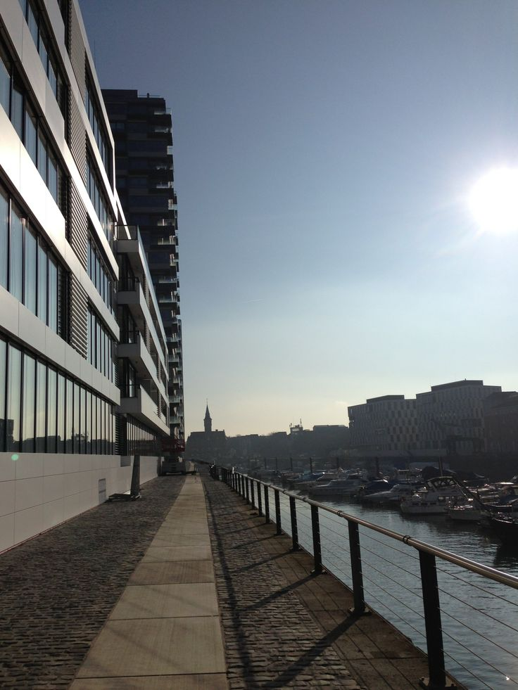 #Traumtag im Kölner #Rheinauhafen!
