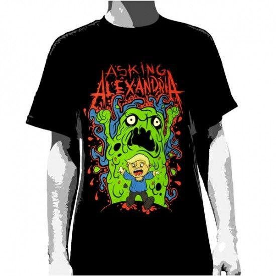 Asking Alexandria T-Shirt Run! - Men's – Famous Rock Shop