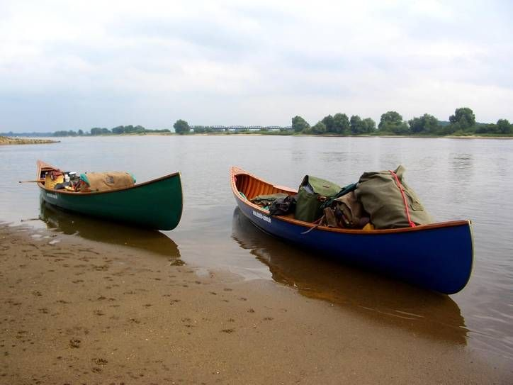 Elbe - Pause am Strand Galerie | Absolut Canoe