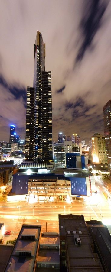 Melbourne at Night, Australia