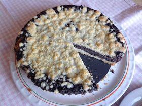 VÍKENDOVÉ PEČENÍ: Makový koláč s drobenkou