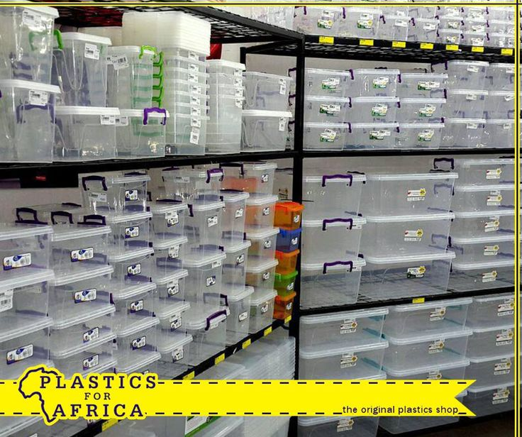 At #PlasticsforAfrica, we have a huge selection of clear storage boxes with clip on lids, which are deal for packing away all your winter clothing and bedding until next year. #storage