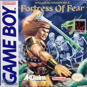 Wizards & Warriors X Fortress Of Fear - Game Boy Game