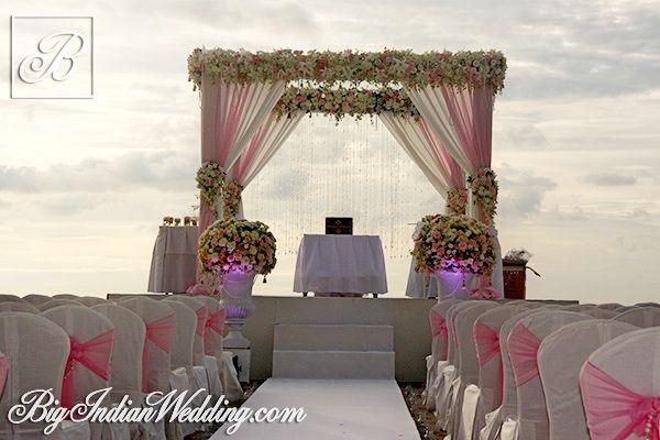 I Do Etc. outdoor Indian wedding in Thailand