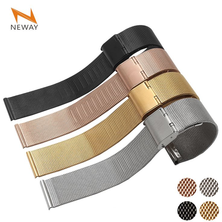 Stainless Steel mesh Wrist loop Watch Band  for Apple Watch iWatch 38mm 42mm  Watchband Wristband Sport Edition