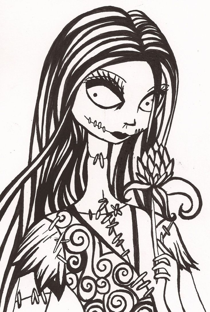 Sally by on deviantART Nightmare before