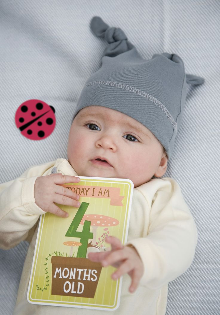 Today I am 4 months old. MILESTONE Baby Cards. Set of 30 cards to capture your baby's first year in weeks, months and big events. www.milestonecards.com